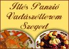Illés Panzió Szeged. Stüszi Vadászétterem - Szeged első vadász étterme. Szállás, szoba, hotel. Étterem Szeged, étterem Szegeden, éttermek Szegeden, szegedi éttermek.