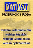 A Kontraszt Produkciós Iroda vállal reklám és referencia film, esküvői videófelvétel, weblap készítést, weblap üzemeltetést és karbantartást, kereső optimalizálást.