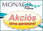 Monaco Klíma Kft. -Szeged. Klíma, légkondicionáló, légkondi, Klímatechnika, Légtechnika, Hűtéstechnika, Légállapot szabályozás. Daikin, Hitachi, Panasonic Samsung, LG, Hisense, Midea, Tekno Point, split.</title>