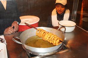 Picarones recept Peruból