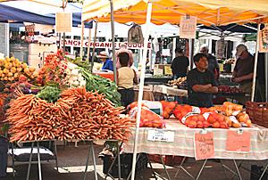 Market Pacific Palisades - Piac a Csendes Óceán partján