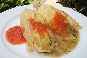 Tamale (BBQ Csirkés)