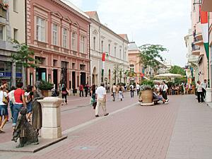 Szeged Klauzál tér
